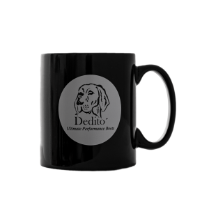 Dedito coffee/tea mug black